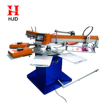 factory price semi rotary automatic silk Screen Printing Machine for sale