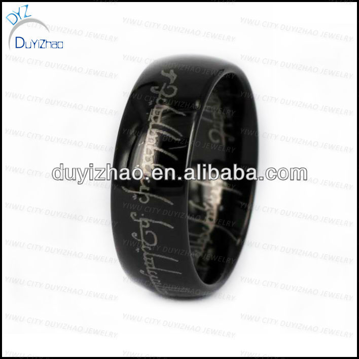 black lord of ring/tungsten ring