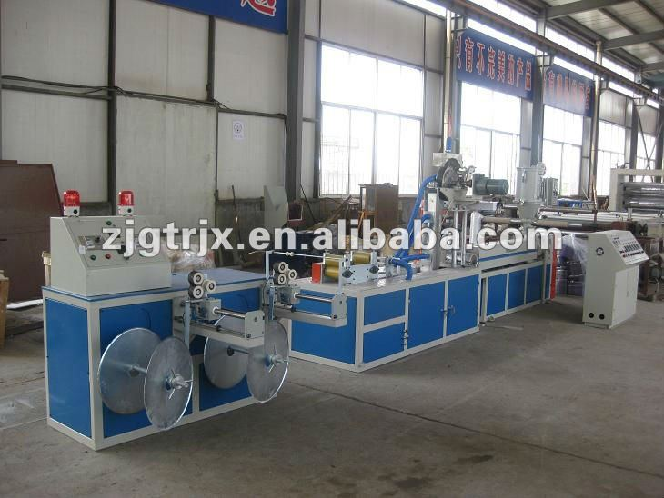 PE flat drip irrigation tape extrusion line
