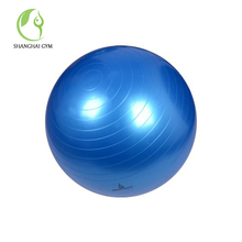 Biodegradable fitness extra large gym yoga ball with handle