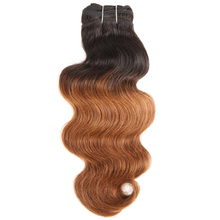 2018 trending products hot sale high quality ombre light brown color body wave Filipino Virgin Hair