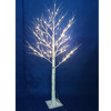 Best choice products lighted Christmas LED white twig tree birch tree outdoor garden decoration