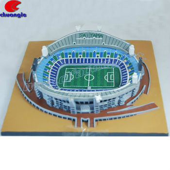 Polyresin Customized 3D Stadium Famous Building Model