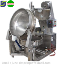 automatic dairy cream cooking mixer steam