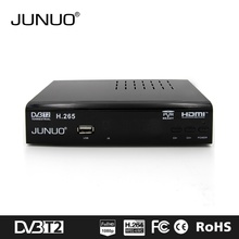 JUNUO high quality factory price flame sat dvb-t2 decoder micro usb tv tuner dvb-t2
