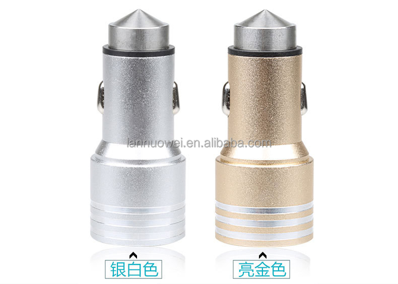Hot selling portable dual usb 5v 2.1a car charger, micro usb car charger for smartphone