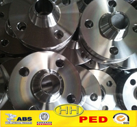 China Supplier,ANSI B16.5 forged steel wnrf flange with PED
