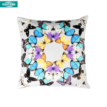 Cotton / linen printing eco-friendly blank sublimation square shape pillow cover
