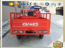 EEC Three Wheel Cargo Motorcycle Engine 200CC Max Speeed 80km/h Heavy Loading 2000kg