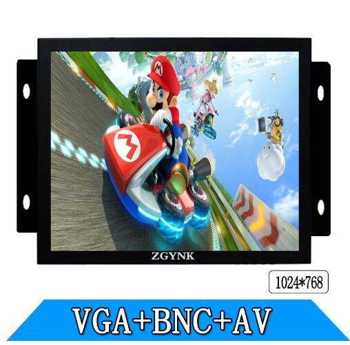 8 inch Open Frame Industrial monitor/Metal monitor with embeded display