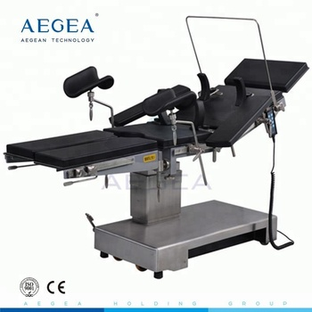 AG-OT010B motorized adjustable x-ray surgical surgery hospital electric operating table price