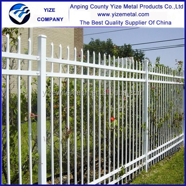cheap hot sale galvanized steel pool iron fence