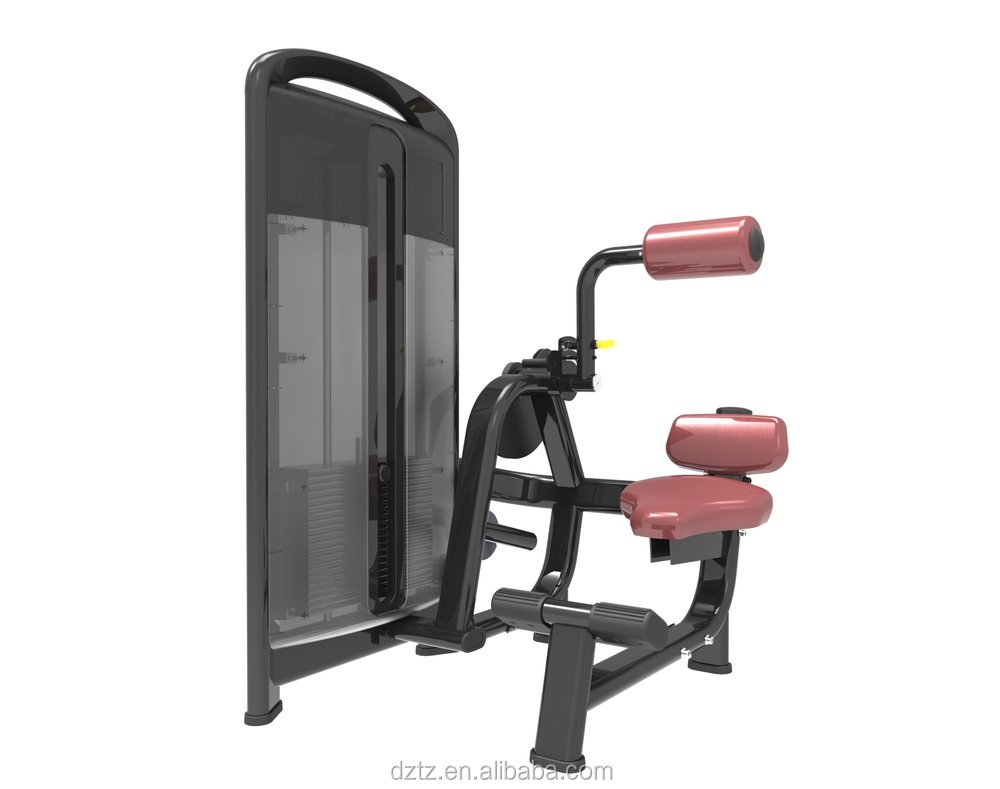 Lower back Machine commercial belly bodybuilding back exercises machine TZ-4006
