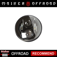 Older LED headlight For Jeep wrangler JK 07+ 2nd G running light off road accessories