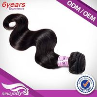 Virgin Can Be Dyed China Factory 100% Brazilian Hair Clip-On Hair Extension