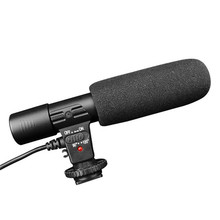 Sidande Mic-01 Studio Stereo Camcorder 3.5mm Recording Microphone for Canon Nikon Pentax Olympus Panasonic Digital SLR Camera