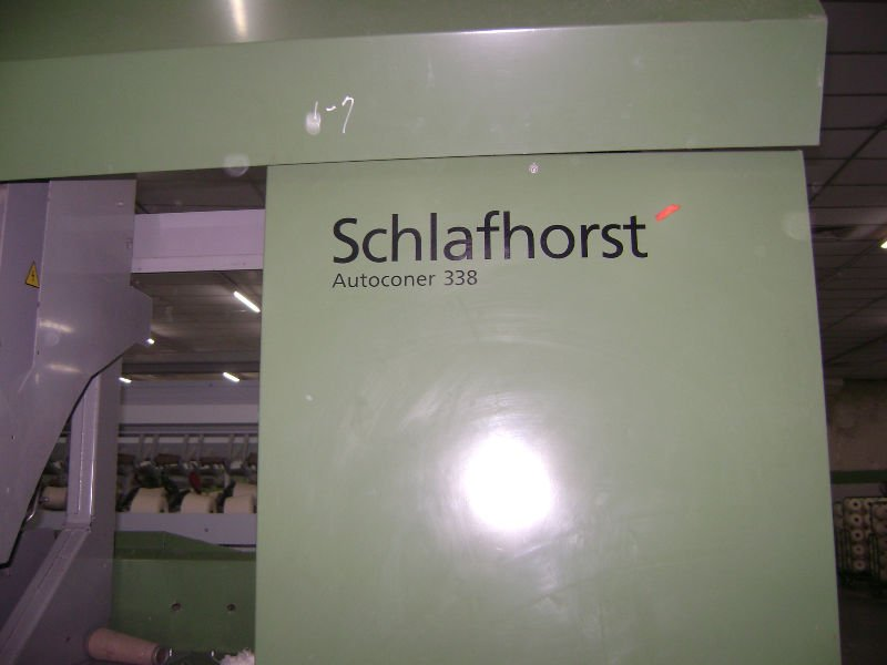 schlafhorst 338 spinning machinery