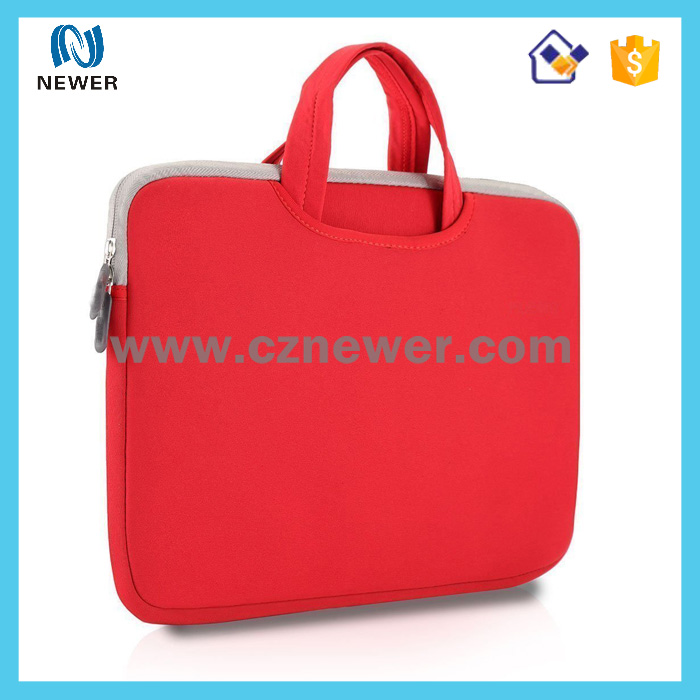 New style useful unique low price neoprene laptop bag