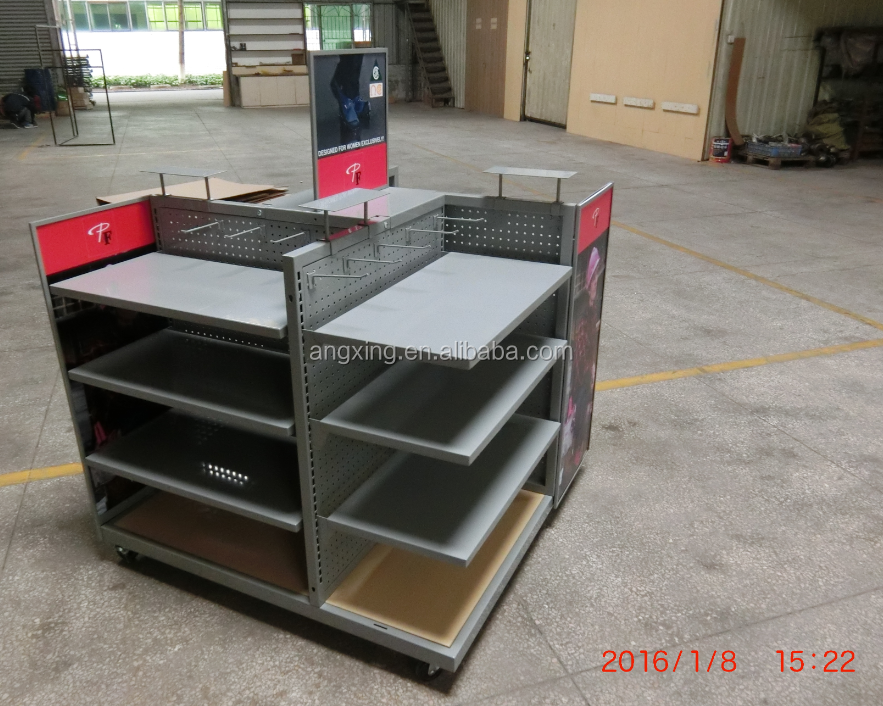 2015 New Shop Fitting Display Equipment clothes shop equipment