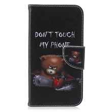 comfortable leather wallet case for Samsung J7 accept oem color printing