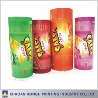 FDA certificated flexible PET BOPP AL PE printing food packaging plastic film roll