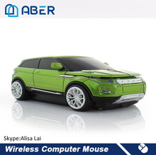 Fashion Sports Car Mouse USB 2.0 Computer Mice Optical 2.4G Wireless Mouse