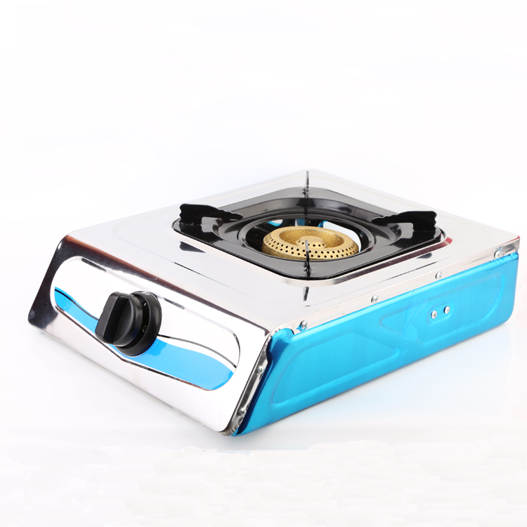 Chinese Cheap Stainless Steel Indoor Home Kitchen Mini Table Top Portable Gas Cooker