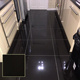 600 x 600mm 10mm polish pottery homogeneous line making floor tiles black light large thin polished porcelain tile