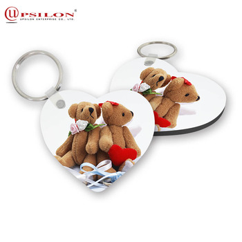 Various Styles Sublimation Customized Design Key Chain Ring