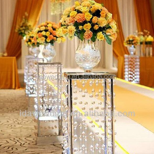 cheap acrylic columns wedding decorationsluxury wedding crystal pillarclear acrylic wedding stages crystal pillars for sale