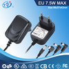 12V 0.5A EU wall mount constant power supply for led with 61347 safety