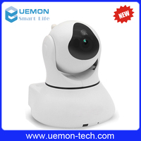 Smart home Night vision 720P HD Pan/Tilt IP wifi wireless cctv video camera with voice recorder