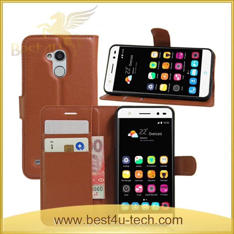 Leather Wallet Case, Leather Wallet Phone Case for ZTE Blade A2