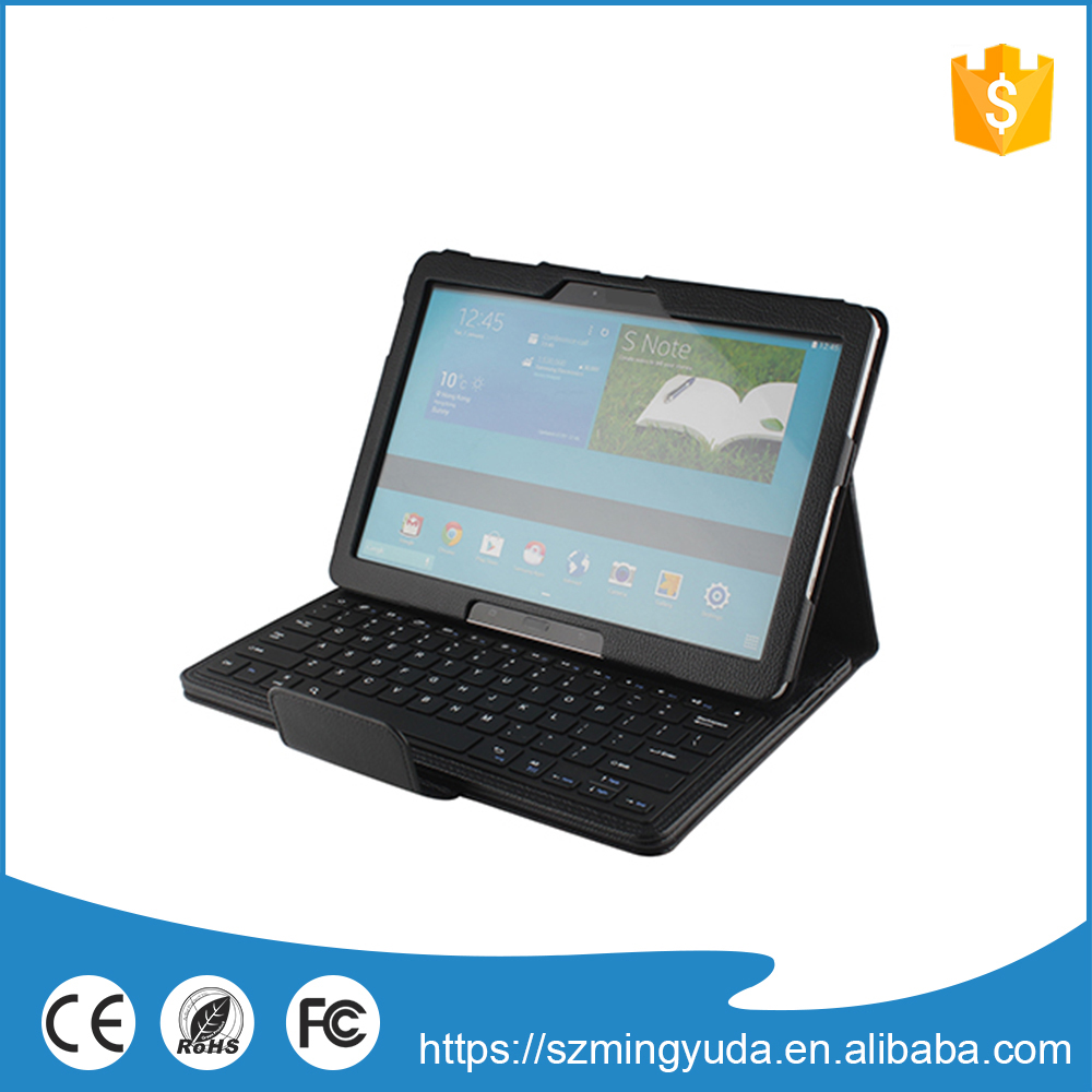 Factory manufacturer supply tablet pc leather keyboard case
