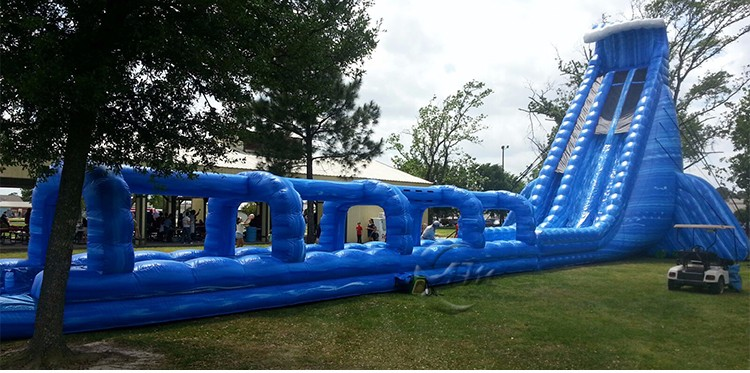 Hurricane inflatable slide, giant inflatable water slide for adult