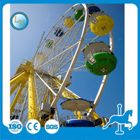Romantic giant amusement decorative kiddie ferris wheels for sale