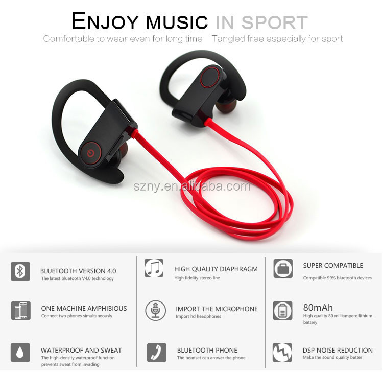 2017 hot sell Mobile Phone Use and Wireless Communication wireless bluetooth headphone