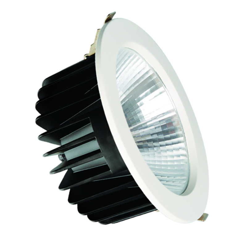 SAA CE ROHS approved 25W patent design recessed led <strong>downlight</strong> with 110lm/W