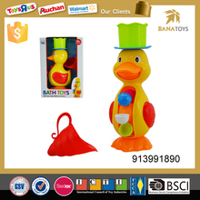 Eco-friendly cute plastic Duck cartoon animal baby toy