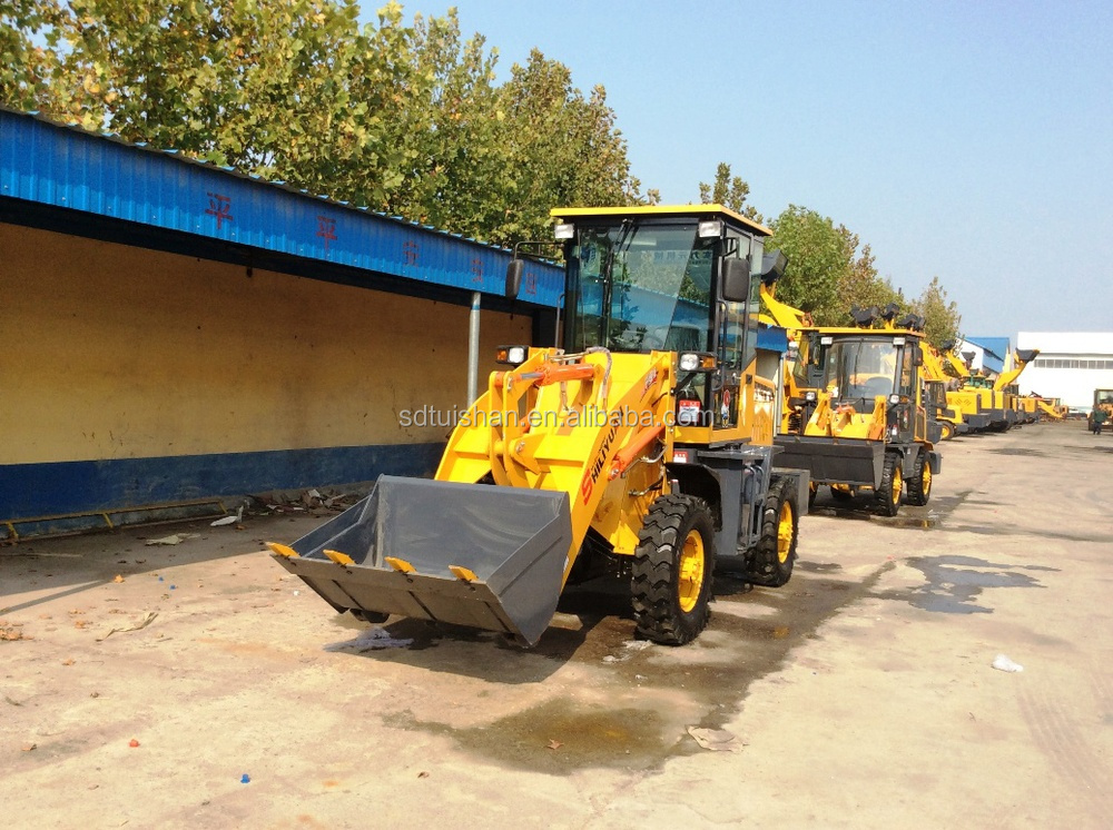 drum brake wheel loader