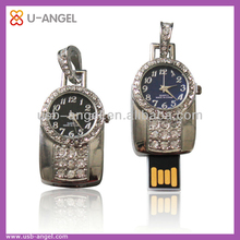 High quality low price wholesale full real capacity Jewelry USB flash drives necklace style for men
