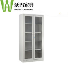 2016 NEW DESIGN SCHOOL FURNITURE SLIDING DOOR METAL CUPBOARD/ METAL FILE CABINET