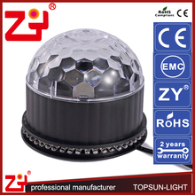 2 years warranty magic ball light RGBW Color disco ball light 12v