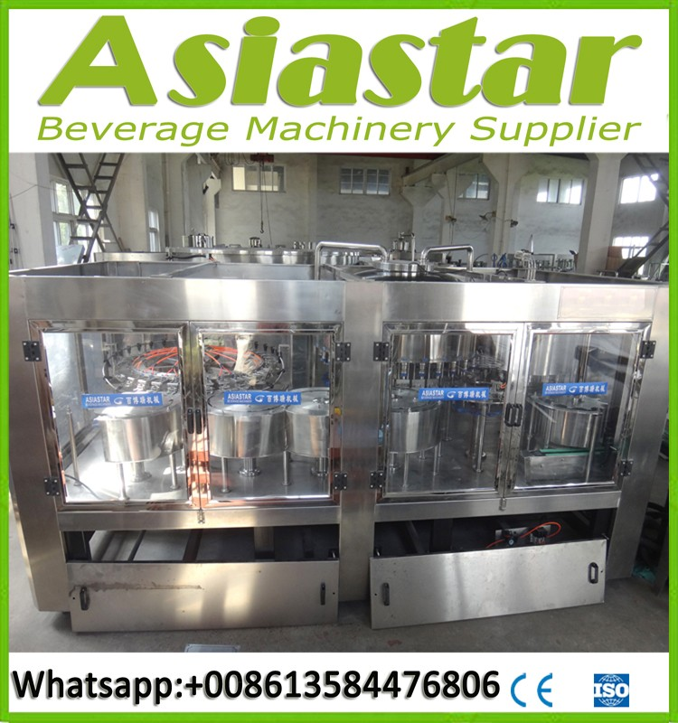 Drink water 100ml-2500ml bottle filling machine beverage packing line