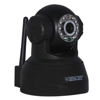 Factory Price Wifi 300K pixel supports Mobile Phone and Email alarm indoor night vision wireless Camera p2p ip pan tilt