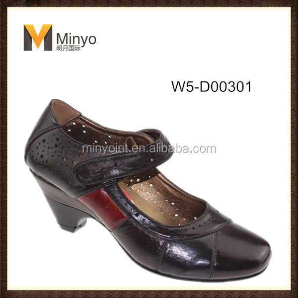 Minyo 2014 Fashion Women Comfort Dress Shoes With Mid Heel
