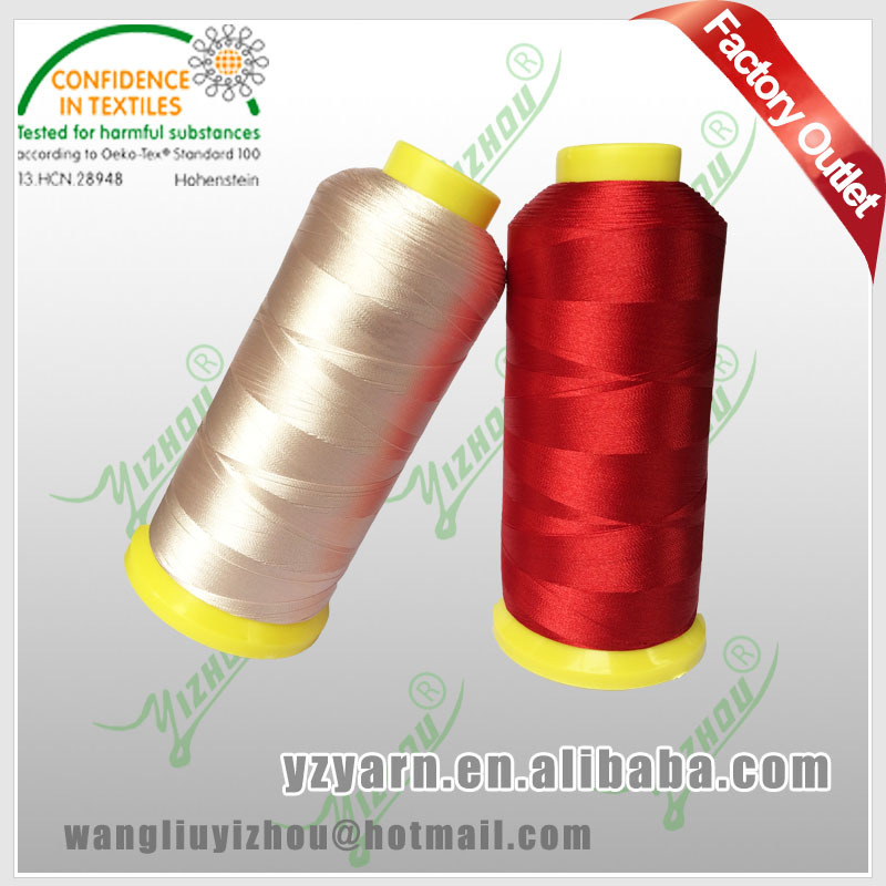 120D/2 100% polyester thread for embroidery