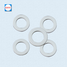 Low price heat resistance al2o3 ceramic spacer ring