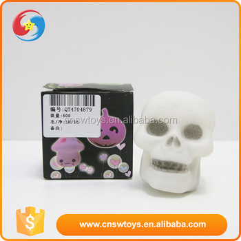 Most popular summer plastic children flashes skull lights toy