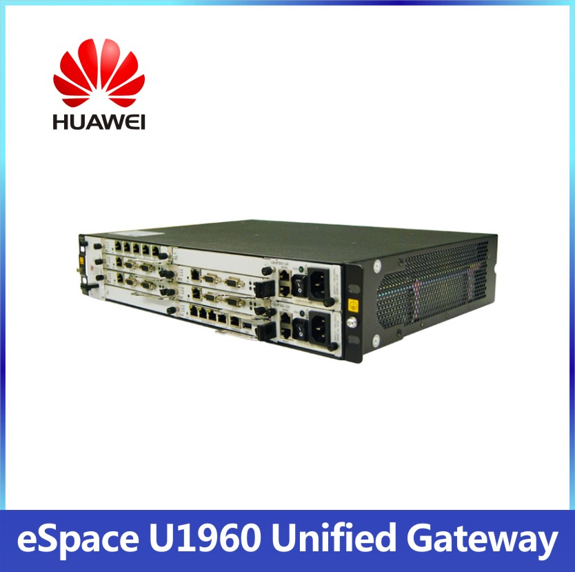 eSpace HUAWEI U1960 IP PBX System PSTN support hot swapping